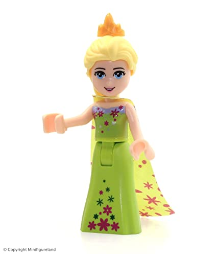 Amazoncom Lego Disney Princess Frozen Minifigure Elsa Lime