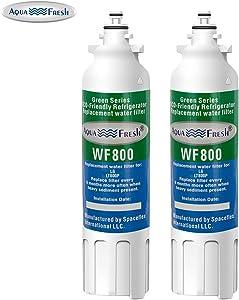 Aqua Fresh WF800 Replacement for LG LT800P, ADQ73613401, Kenmore 46-9490 Refrigerator Water Filter (2 Pack)