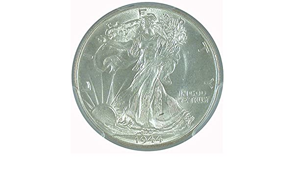 Blast White Choice BU 1943-S Walking Liberty Silver Half Dollar