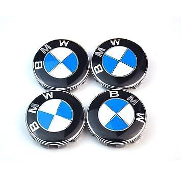 BMW M Sport 4x 68mm NABENKAPPEN NABENDECKEL FELGENDECKEL RADNABENDECKEL