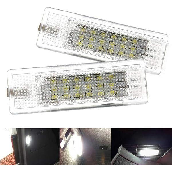 VIGORFLYRUN PARTS LTD 2pcs LED Interior Cortesía Pie Bajo Puerta ...