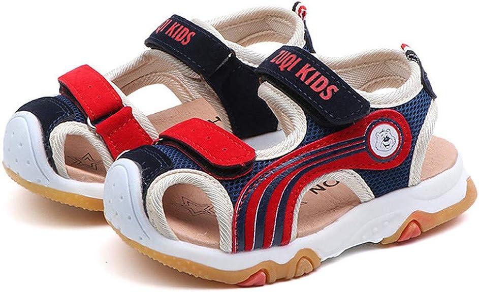 Sandales B/éb/é Fille et Gar/çon Unisex,Ete Bout Ouvert Sport Chaussures Enfant de Plage Youngii