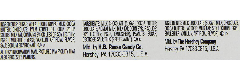 HERSHÉYS Chocolate Candy Bar Variedad Pack, Reeses, Kit Kat 18 ...