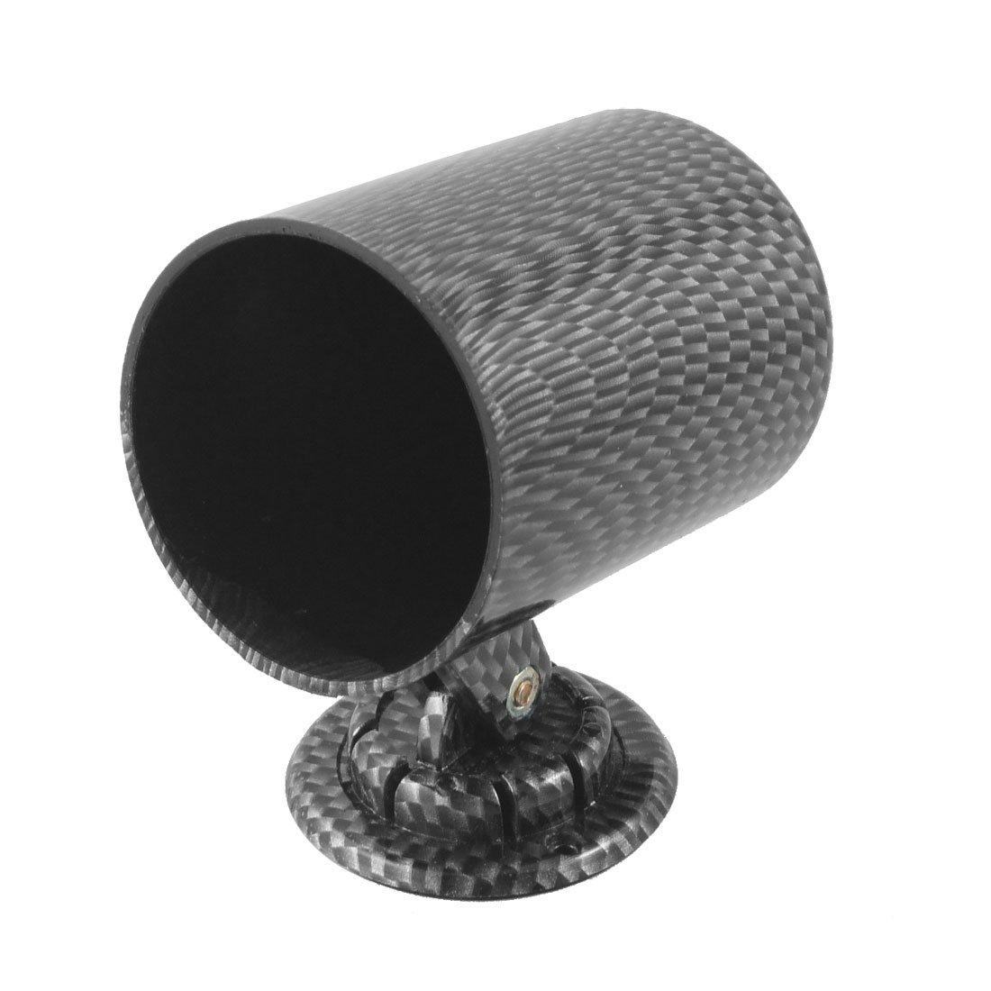 sourcingmap Car 55mm Gray Black Plastic Single Hole Gauge Pod Meter Holder a12081400ux0146