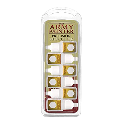 The Army Painter Paint Mixing Empty Bottles - Plastic Dropper Bottles for Acrylic Paint - Empty Plastic Bottles with Squeeze Top, 12ml, Pack of 6: Toys & Games
