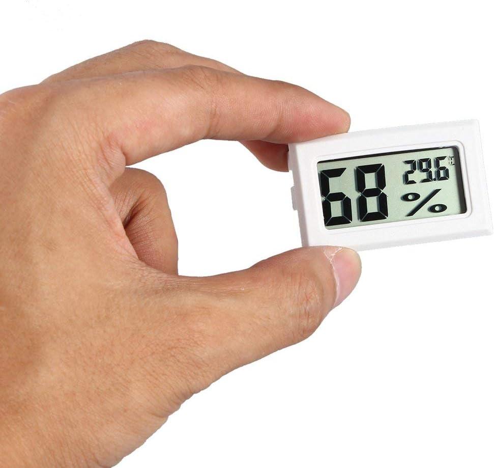 Swiftswan Mini Digital LCD Thermometer Hygrometer Humidity Temperature Meter Indoor Digital LCD Display Sensor