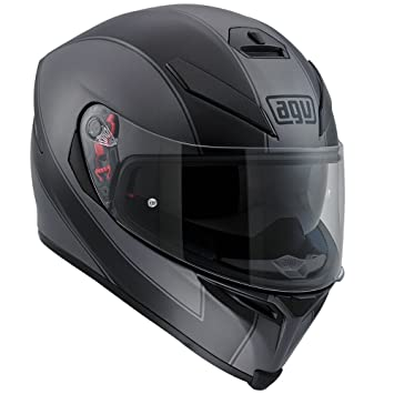 AGV k5-s enlace negro/Mat gris casco de moto