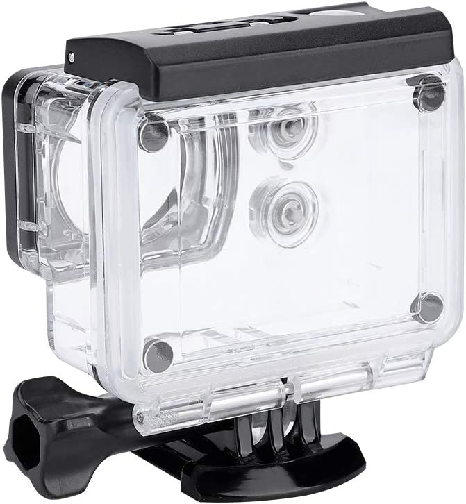 Protective Waterproof Diving Case for SJCAM SJ7 Star Ideal for Snow//Diving//Surfing Mugast Underwater Housing Case for Action Camera