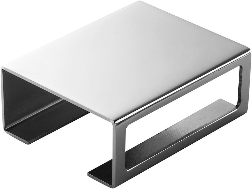 By Lassen – Match Box Cover – Caja de cerillas Cover – Chrome – 7,1 x 5,7 x 2,8 cm: Amazon.es: Juguetes y juegos