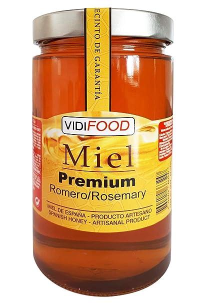 Miel de Romero Premium - 1kg - Producida en España - Alta Calidad ...