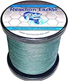 Reaction Tackle High Performance Braided Fishing Line (Various Colors) from Reaction Tackle