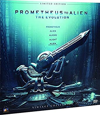 Alien Antología Colección Vintage (Funda Vinilo) Blu-Ray [Blu-ray]