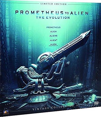 Alien Antología Colección Vintage Funda Vinilo Blu-Ray Blu ...