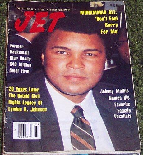 Jet Magazine May 13 1985 Muhammad Ali Don T Feel Sorry For Me 68 Amazon Com Books