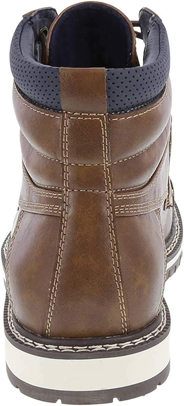 Cognac Men's Waylan Cap Toe Boot 11