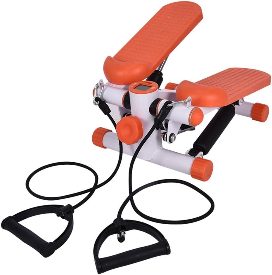 Mini Stepper avec Tapis de Protection Faible Bruit pour Fitness entra/înement en CASA Civigroupey Up-Down Applique Murale Stepper avec Cordes dentra/înement