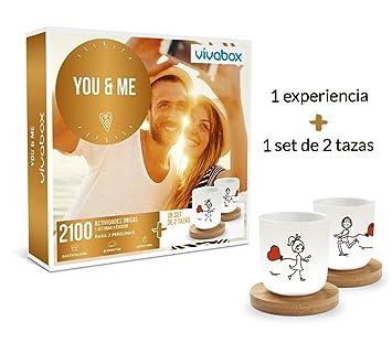 VIVABOX Caja Regalo -You & ME- 1.650 Actividades. Incluye: un Juego de