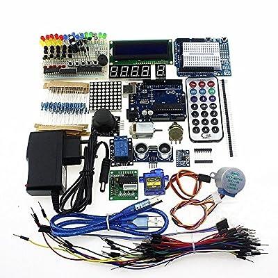 Mihappy Starter Kit for Arduino UNO R3 Mega2560 Mega328 Nano by Mihappy