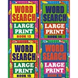 Wordsearch Large Print - Set of 4 Books (New) (Large Print Wordsearch - Set of 4 books)