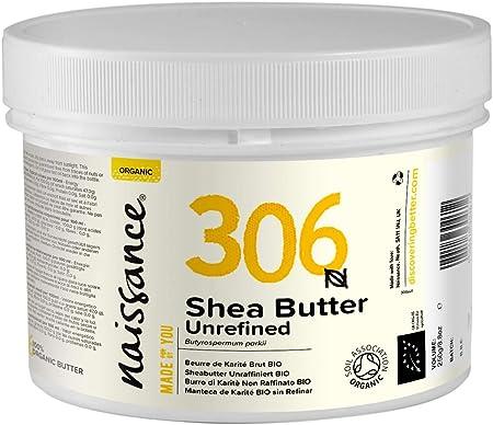 Manteca de karité 100 % pura, sin refinar, certificada ecológicamente y proviene de Ghana. INCI: But