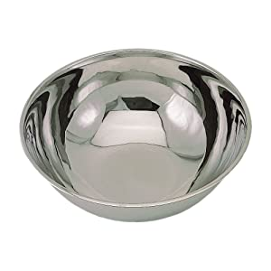 Update International MB-2000 Stainless Steel Mixing Bowl, 20 qt, 202 Stainless Steel