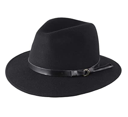 eb8ab5a8c59d9 Classic Italy Classique Traveller Wool Felt Fedora Hat Packable