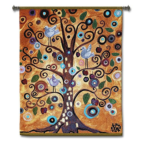 Fine Art Tapestries - Tree of Life wall tapestry