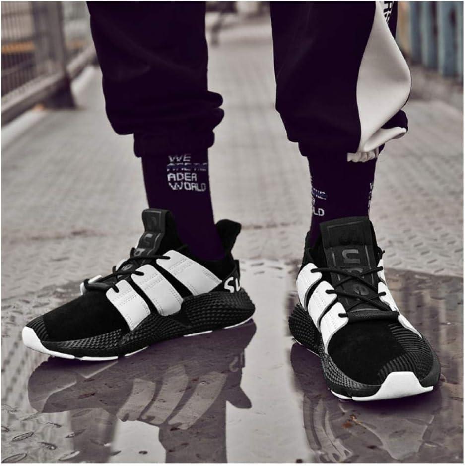 WAXFAS Men's Sneakers Winter Running Shoes Comfortable Outdoor Men's Warm Sneakers Men's Hiking Shoes 43
