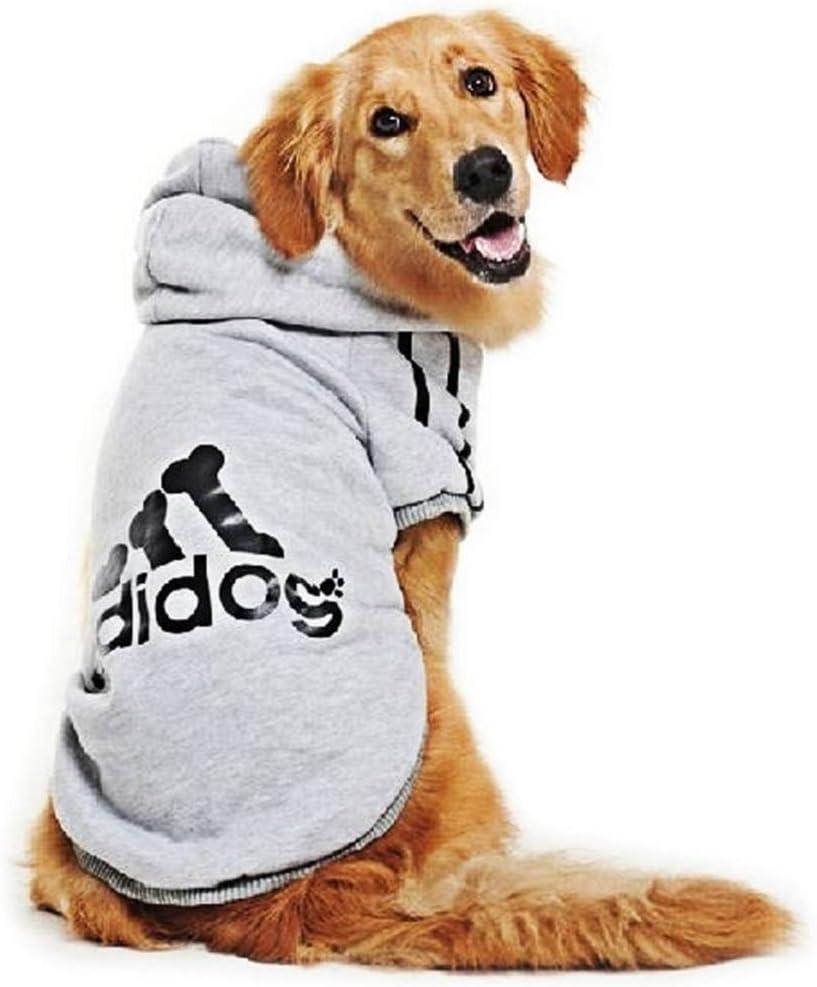 BestYuan Hunde Warm Hoodies,HundeKleidung,Haustier Welpen T-Shirt,Mantel Kleidung Pullover Haustier Welpen T-Shirt,S-9XL