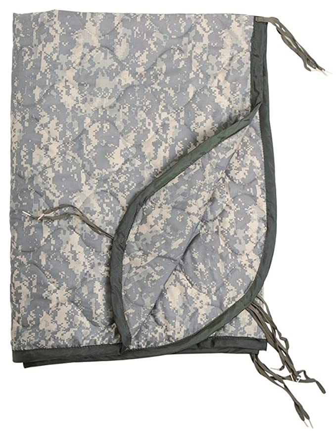 Military Poncho Liner Blanket Camping Travel Hiking Mat Tropical Camo: Amazon.es: Deportes y aire libre