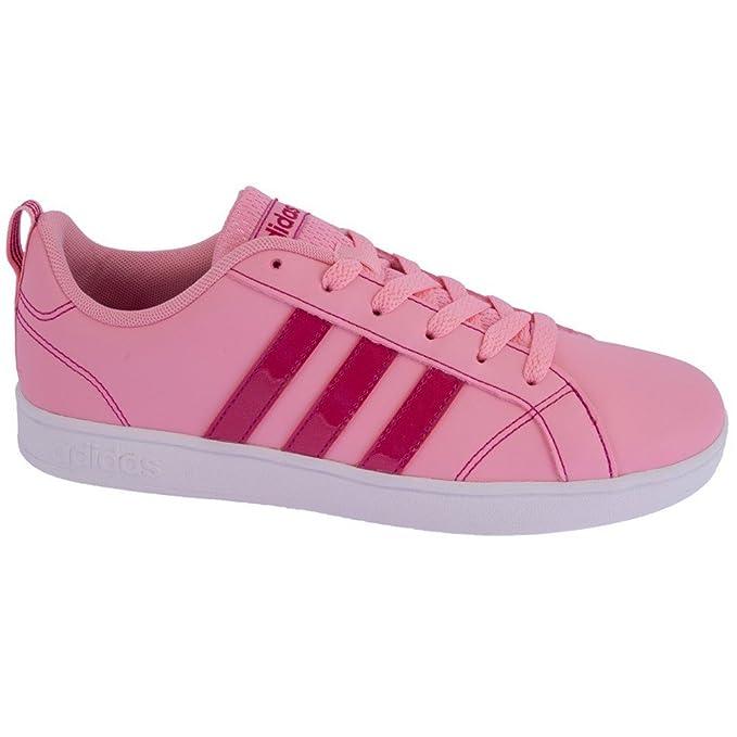 adidas VS Advantage K - Chaussures deportivaspara enfants, rose - (rossua /rosfue/Ftwbla), 28: Amazon.fr: Sports et Loisirs