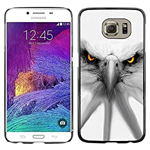 Be Good Phone Accessory // Dura Cáscara cubierta Protectora Caso Carcasa Funda de Protección para Samsung Galaxy S6 SM-G920 // Eagle White Patriotism America Symbol