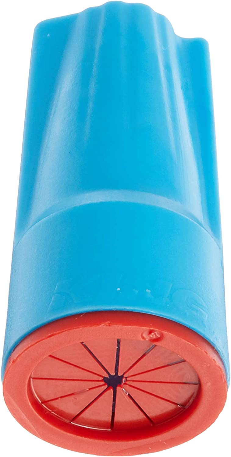 King Innovation 62235 DryConn Outdoor Electrical Wire Connector 100//Bag Aqua//Red