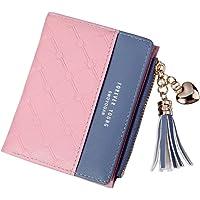 Card Holder Bag Wallets for Women Gifts Tassel Purse ROKOO PU Patchwork Money Wallet