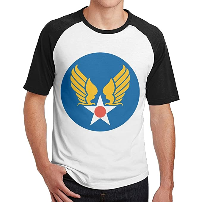 Amazon Mens Two Toned T Shirts Cool Us Army Air Corps Hap