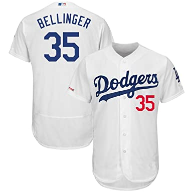new product 9d422 c9064 VF LSG Men's Los Angeles Dodgers #35 Cody Bellinger Flex Base Player Jersey  White