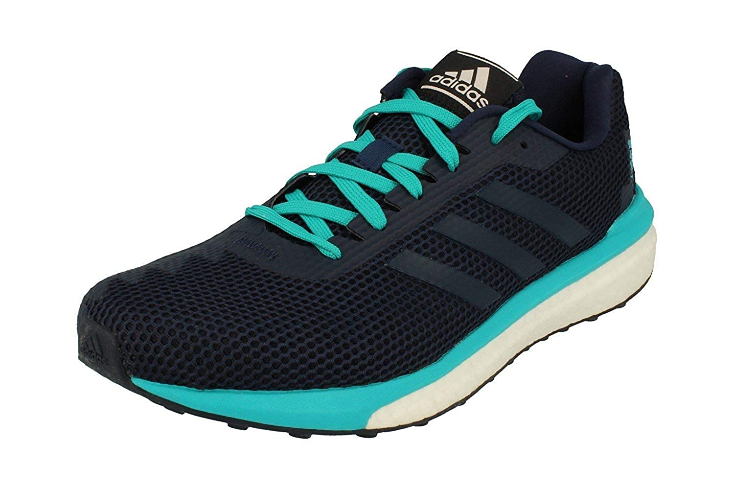 Adidas Vengeful Mens Running Trainers Turnschuhe (UK 9.5 US 10 EU 44, Blau Weiß Turquoise BB1633)
