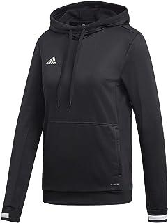 Adidas T19 W, Felpa Donna, Black/White, 2XL DW6872