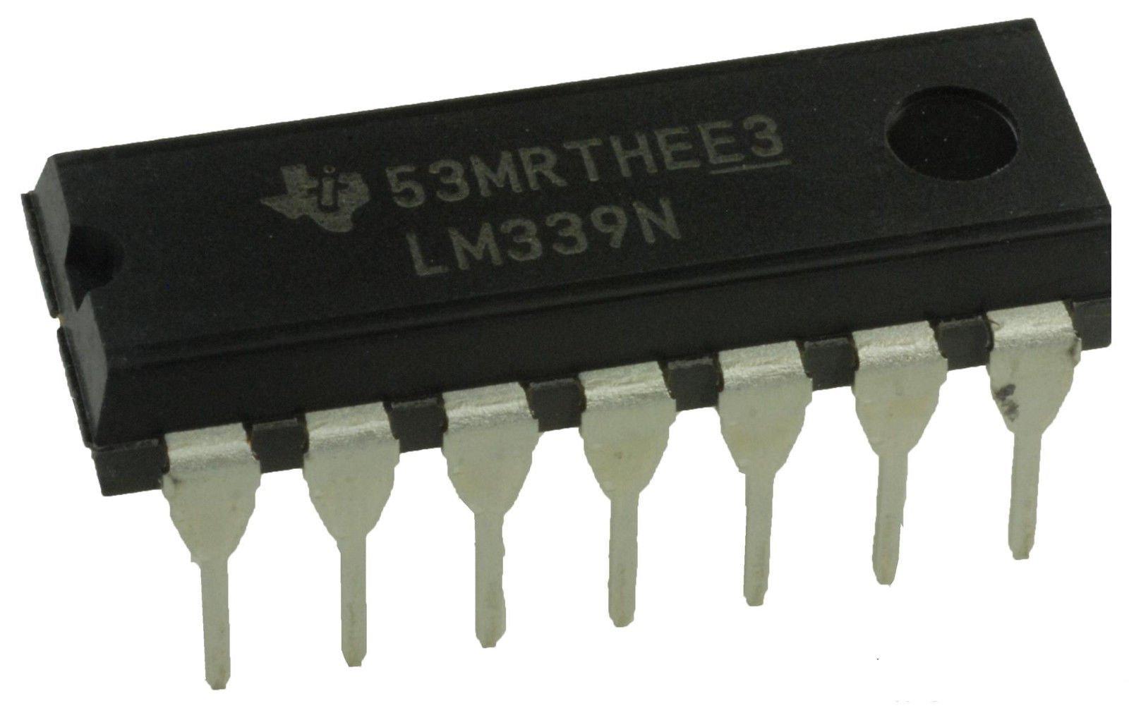 LM339 LM339N Quad Differential Comparators DIP14 20 Pack