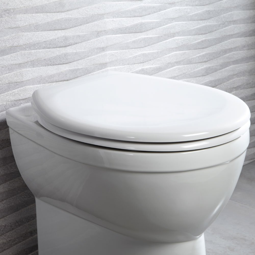 Neutron Soft Close Quick Release Toilet Seat by Roper Rhodes
