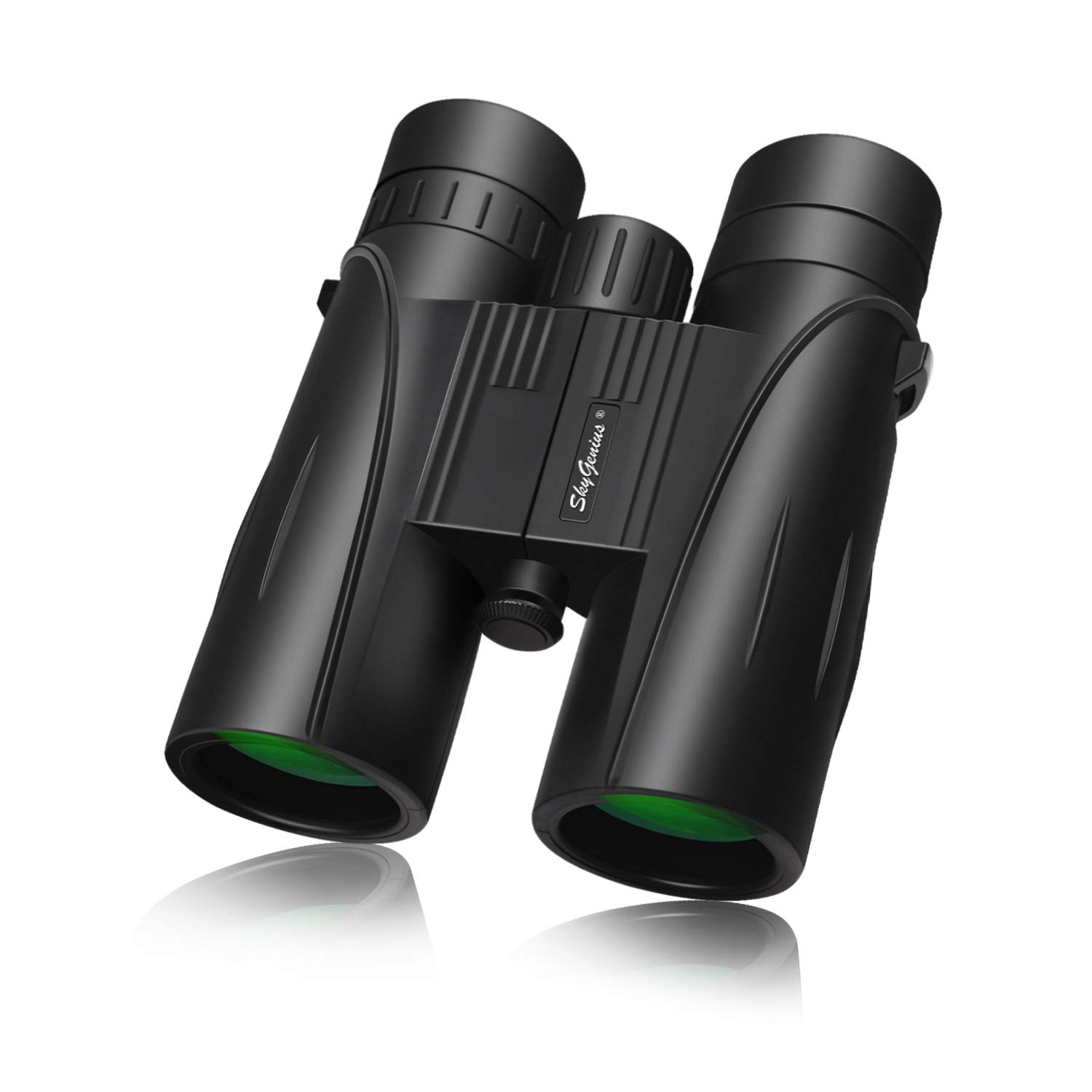 8×42 Full-size Binoculars For Adults BAK4,Green Lens , Durable HD Clarity Binoculars For Bird Watching Sightseeing Hunting Wildlife Watching Sporting Events, W Carrying Case Strap Lens Cap 1.68 Pound