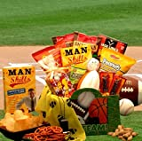Man Skills Sports Gift Box | Gourmet Snacks and Treats | Fun Gift Idea for Men