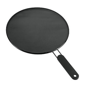 Large Frying Pan Splash Guard Splatter Screen 28cm Frying Pan Kitchen Utensil