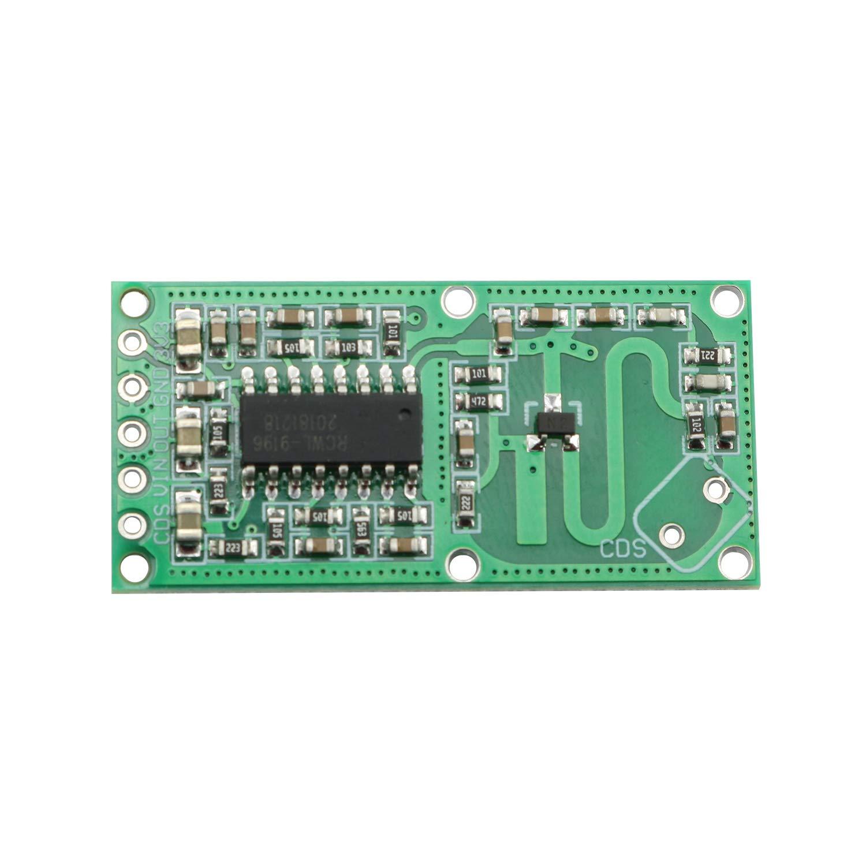 Amazon.com: Maxmoral RCWL-0516 - Módulo de sensor de radar ...