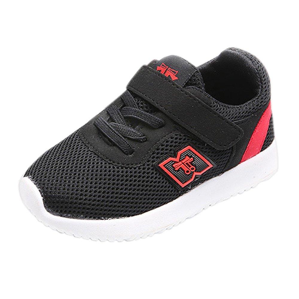 YanHoo Zapatos para niños Zapatillas de Deporte Casuales Baby Zapatillas Deportivas para Correr Zapatillas Casuales de Velcro Zapatos para niñas pequeñas ...