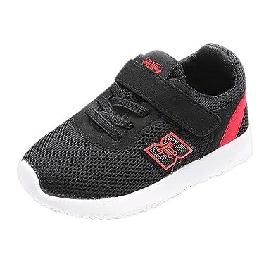 635a2ac3556df YanHoo Zapatos para niños Zapatillas de Deporte Casuales Baby Zapatillas  Deportivas para Correr Zapatillas Casuales de Velcro Zapatos para niñas  pequeñas ...