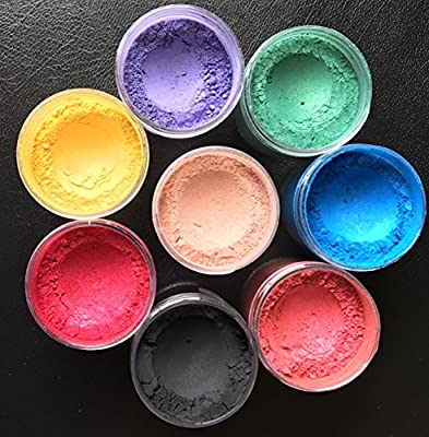 Cosmetic Grade Mineral MICA Colorants for DIY Mineral Makeup & Soap Makings by TwinkleStar
