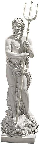 Design Toscano Poseidon Greek God of the Sea Garden Statue