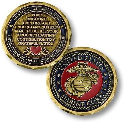 Marine Corps Spouse Coin