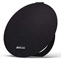 Bluetooth Speakers 4.2,Portable Wireless Speaker with 15W Super Stereo Sound,Strong Bass,Waterproof IPX7, 2500mAh Battery,MOKCAO STYLE Perfect for iPhone/Android devices,Colorful Good Gift-Black
